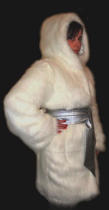 Капюшон из искусственного меха своими руками