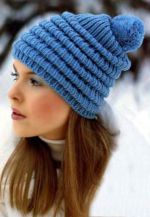 Вязание шапок на узелке: вязание крючком шапки, схема вязания шапок